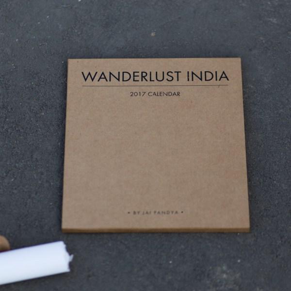 Packaging - 2017 Desk Calendar by Jai Pandya