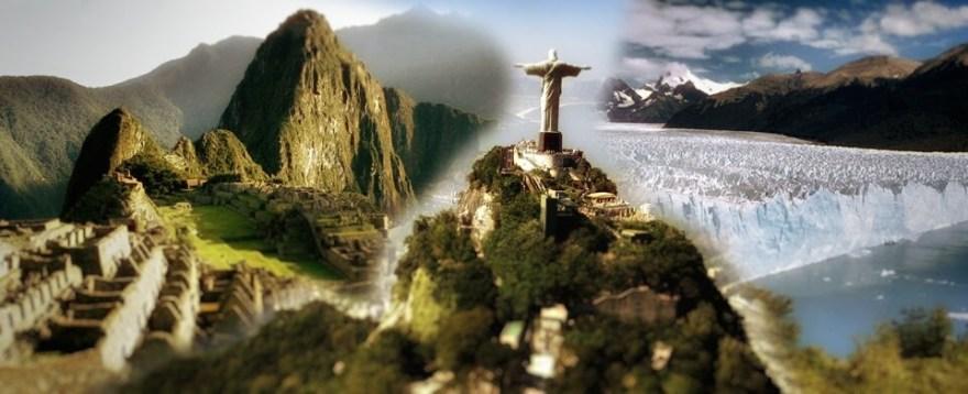 Peru, Brazil, and Argentina