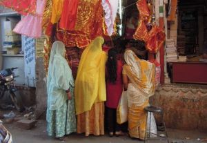 Shopping à l'indienne