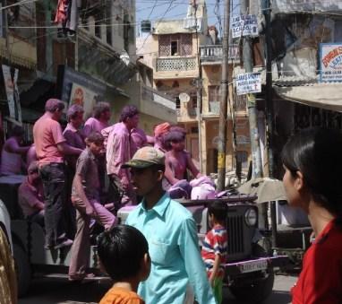 Indiens fête des couleurs Pushkar