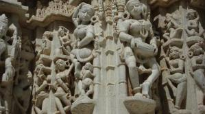 Sculptures temple jain