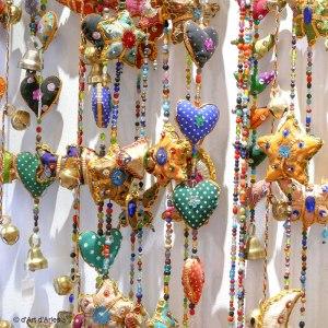 Guirlandes tissu et perles