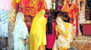 Indiennes en sari
