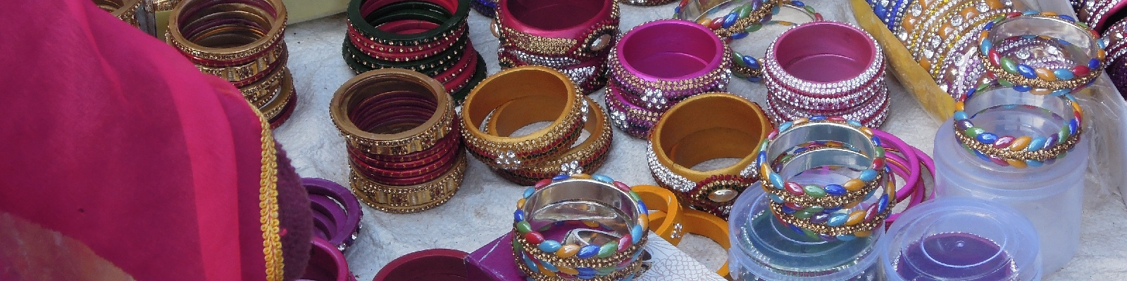 Bangles, bracelets traditionnels indiens