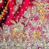 Jupe indienne de cérémonie, détail broderie