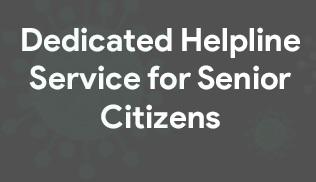 National Helpline poster for Senior Citizens