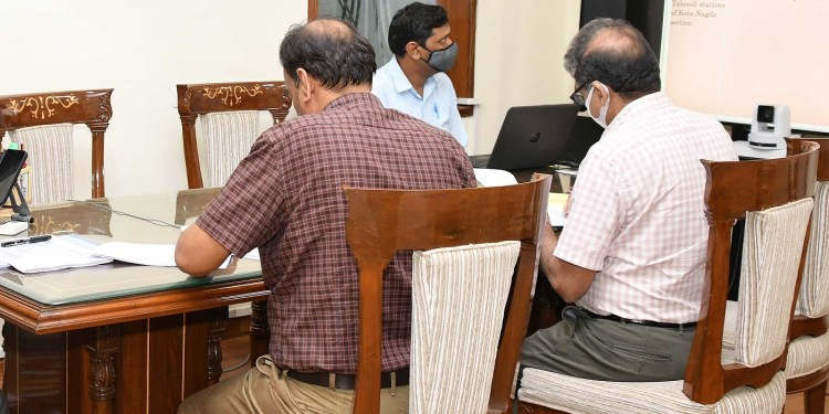 Chief Secretary took the meeting of the West Central Railway's Coordination Committee