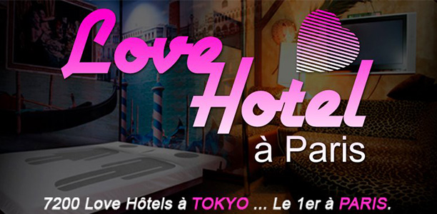 Love Hotel à Paris