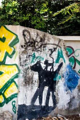Street Art asiatique - Chiang Mai - Thaïlande - Tour du Monde - Jaiuneouverture