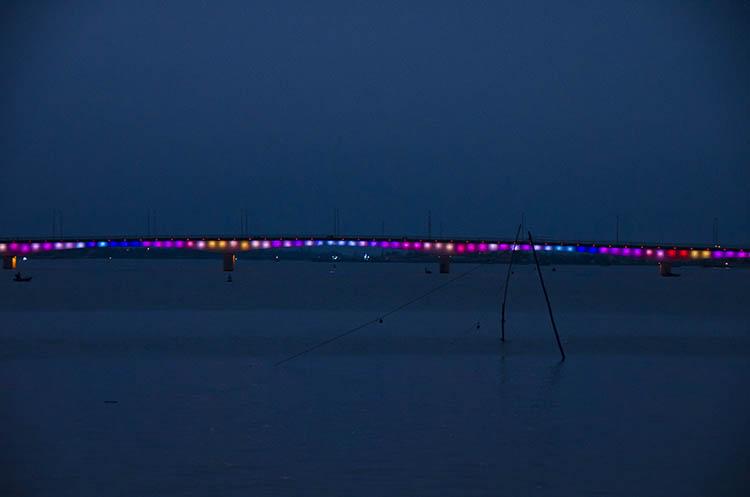 Le pont bisounours de Dong Hoi