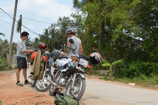 J'ai appris à faire de la moto à Ho Chi Minh - Vietnam - Tour du Monde (9)