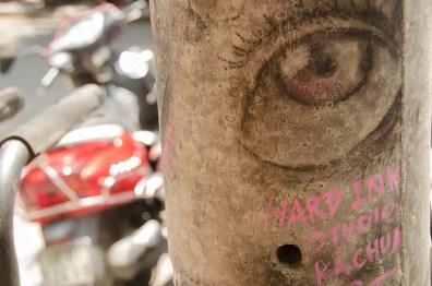 Street Art - Ho Chi MInh -Vietnam - J'ai Une Ouverture - Tour du Monde (19)