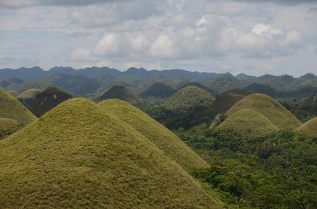 Les Chocolate Hills de Bohol