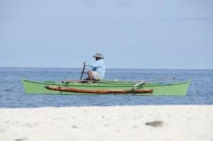 L'île de Camiguin - Philippines - Bateau sur l'eau