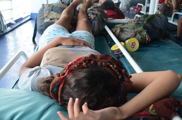 L'île de Camiguin - Philippines - MA femme dort tout le temps