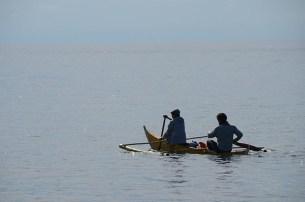 L'île de Camiguin - Philippines - Vraiment petit le bateau