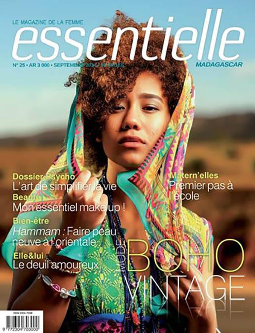 Magazine essentielle - Jaiuneouverture - Eve & Matthieu Couverture