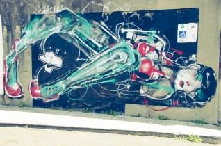 Une peinture à Sydney, près de Bondi Beach