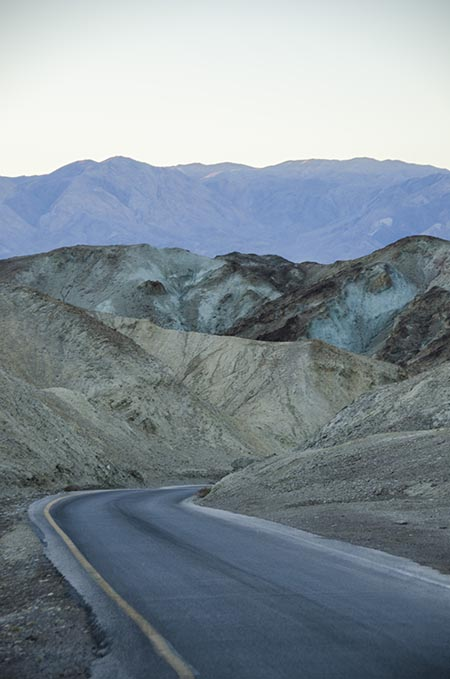 Artist Drive - Death Valley - USA