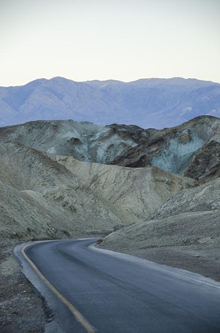 Artist Drive - Death Valley - USA