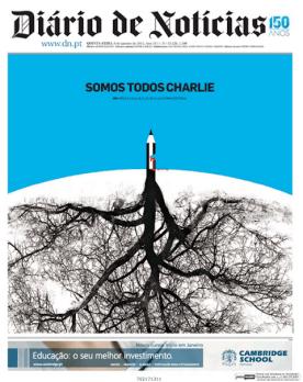Diário de Notícias - Lisbonne - Portugal - Je suis Charlie