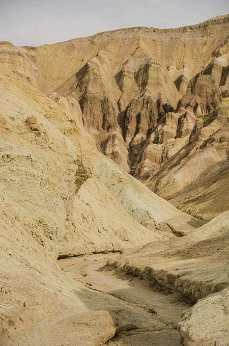 Golden Canyon et red Cathedral - Death Valley - USA