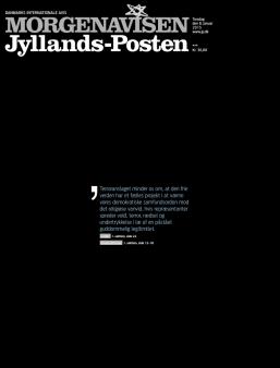 Jyllands-Posten - Aarhus - Danemark - Je suis Charlie