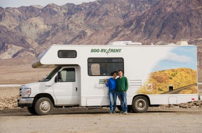 Le Camping Car - Death Valley - USA