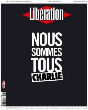 Libération - France - Je suis Charlie