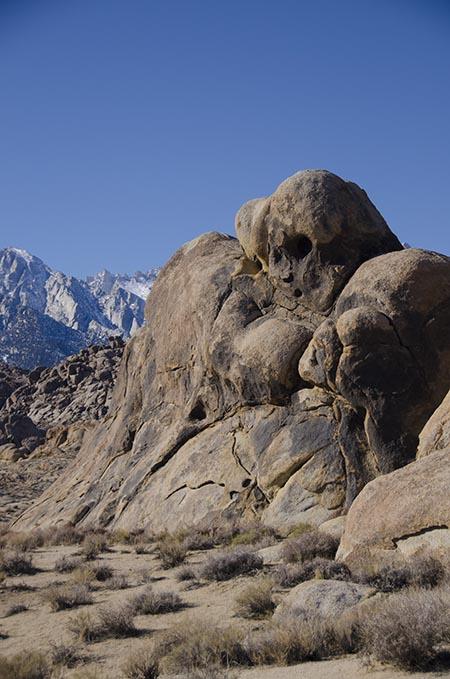 Rochers - Lone Pine - USA