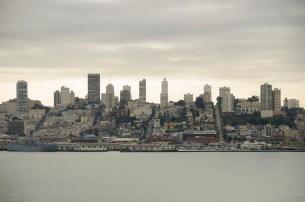 San Francisco depuis Alcatraz