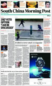 South China Morning Post - China - Nous sommes Charlie
