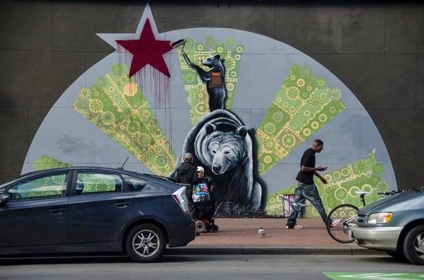 Street Art à Union - San Francisco