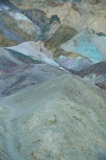 Tas de sables colorés - Death Valley - USA