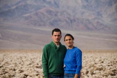 Vert et bleu - Death Valley - USA
