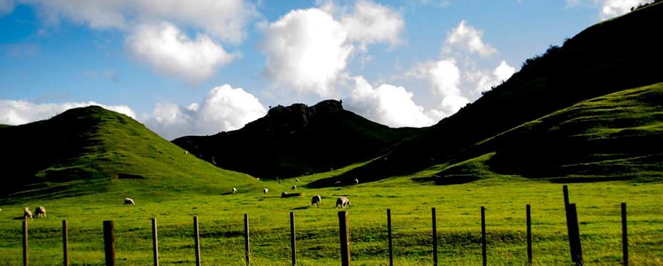 Région secrète en Nouvelle-Zélande - Couverture