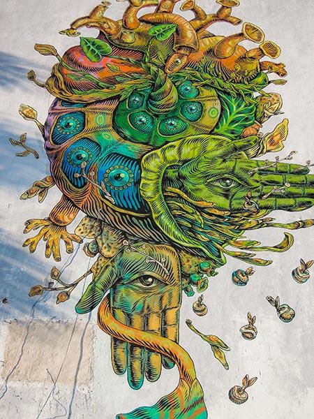 Street Art - Cancun - Mexique (1) copy