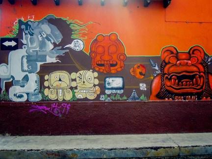 Street Art - San Cristobal de Las Casas - Mexique (1)