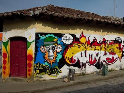 Street Art - San Cristobal de Las Casas - Mexique (2)