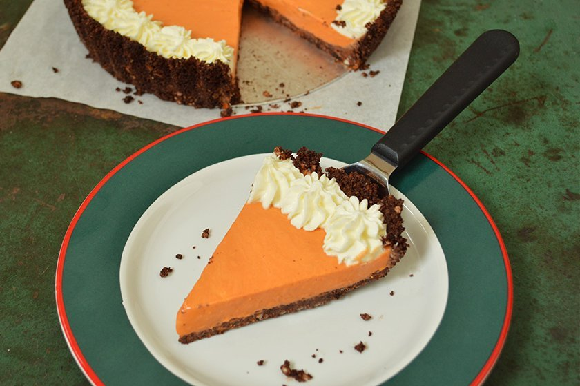 no-bake-thai-tea-cheesecake