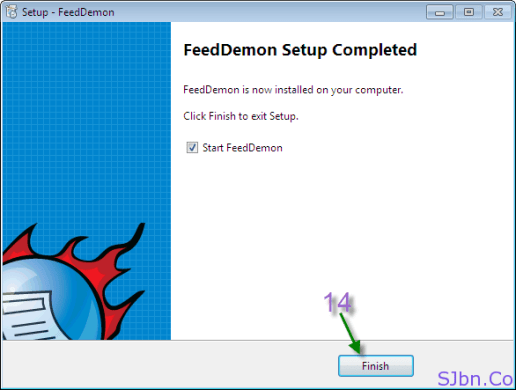 FeedDemon - FeedDemon Setup Completed