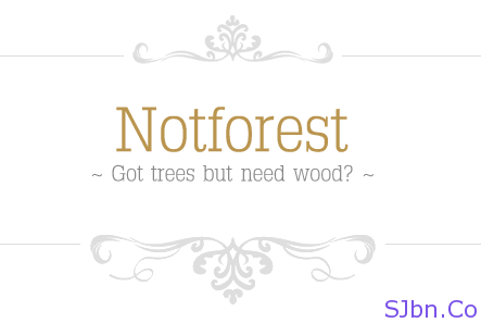 Notforest - Got trees but need wood