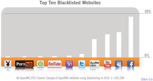 Top Ten Blacklisted Websites