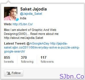 Twitter Hovercard - Jajodia_Saket