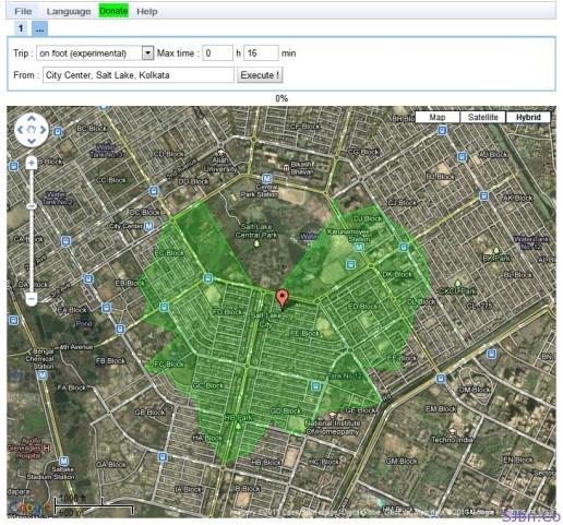 Isochronous Application V0.8 - City Center, Salt Lake, Kolkata