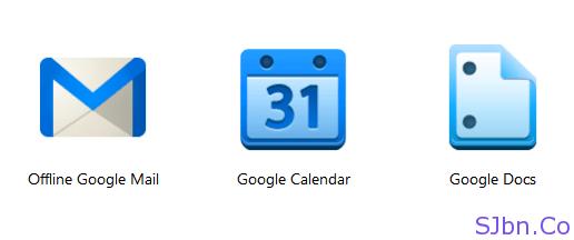 Offline Google Mail, Calendar and Docs