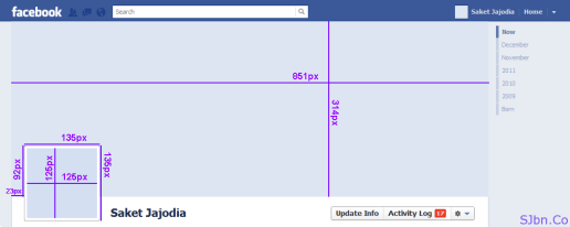 Facebook Cover Layout