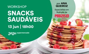 Read more about the article Workshop Snacks Saudáveis by Prozis