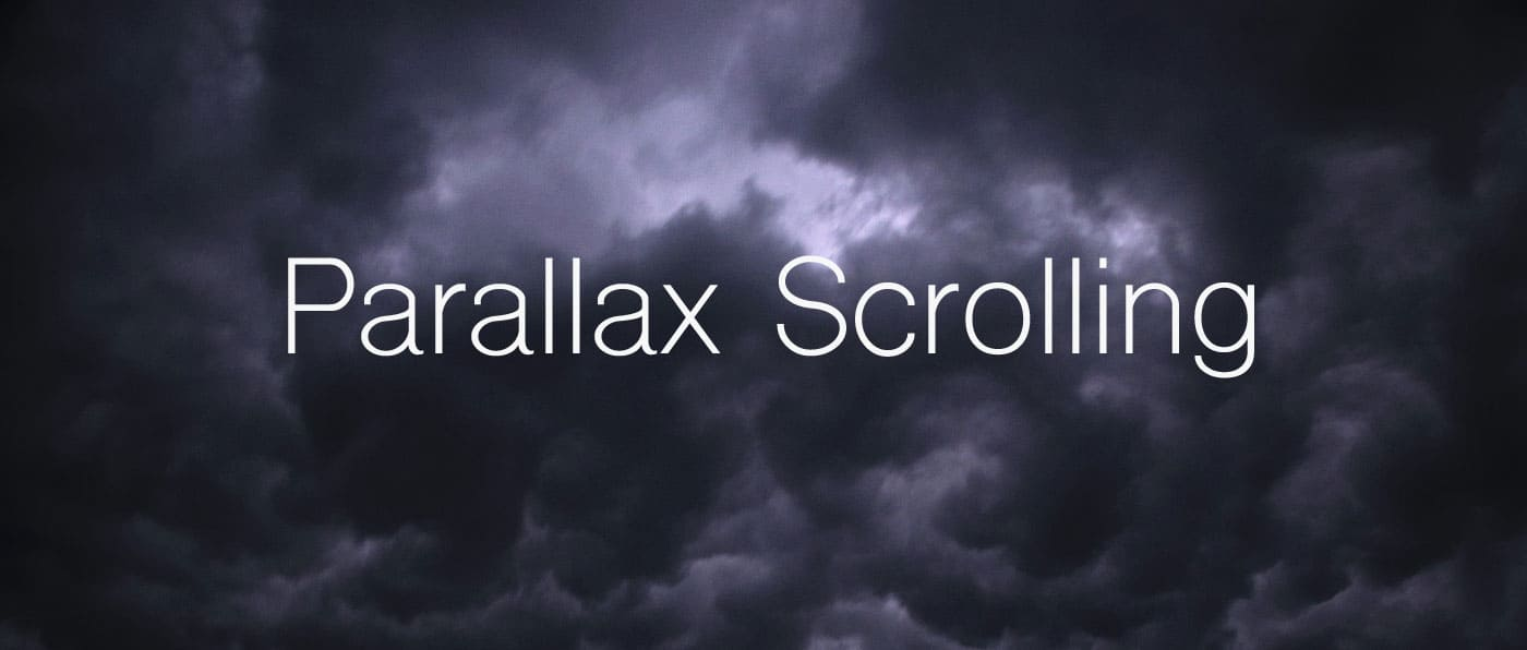 Parallax Scrolling w tle