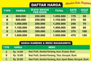 harga paket aqiqah jakarta 2017